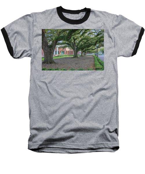 Baseball T-Shirt featuring the photograph Centennial Oaks by Gregory Daley  PPSA