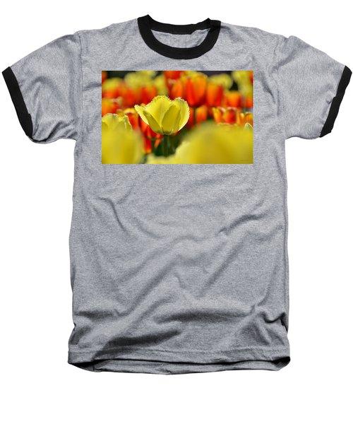 Center Of Attention Baseball T-Shirt