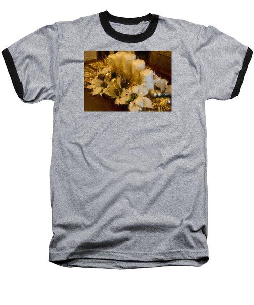 Centerpiece For Christmas Baseball T-Shirt