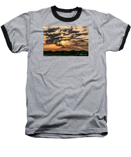Baseball T-Shirt featuring the photograph Central Florida Sunrise by Christopher Holmes