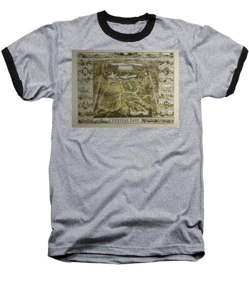 Central Park 1863 Baseball T-Shirt