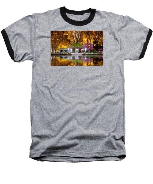 Central Park Memorial Baseball T-Shirt by Az Jackson