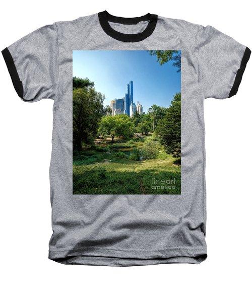 Central Park Ny Baseball T-Shirt