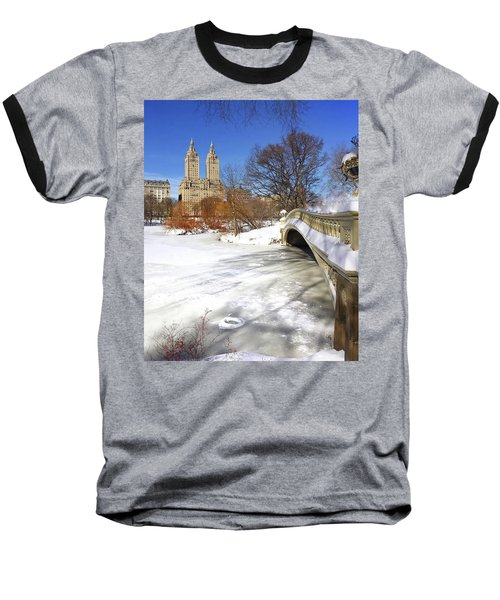 Central Park Winter Baseball T-Shirt