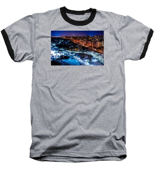 Baseball T-Shirt featuring the photograph Central Park by M G Whittingham