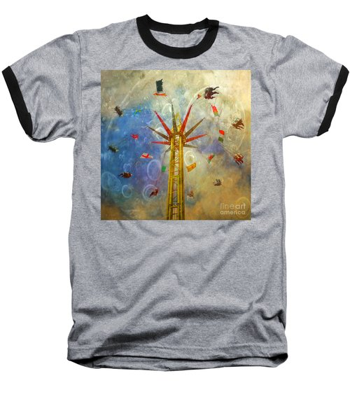 Centre Of The Universe Baseball T-Shirt