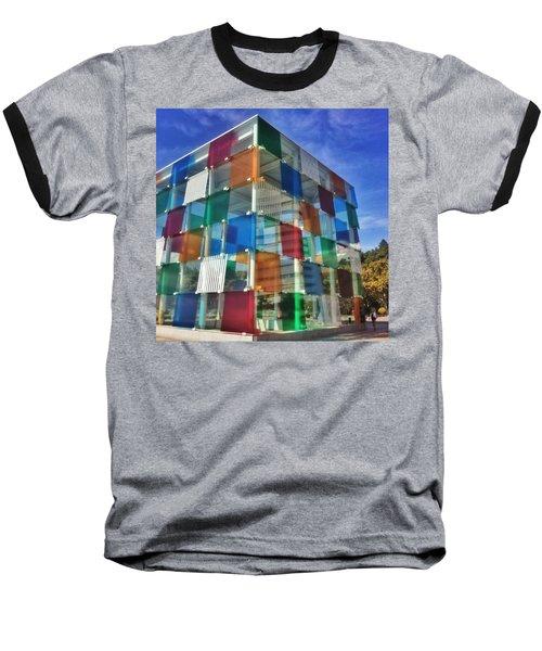 Centre #pompidou #malaga #museo #museum Baseball T-Shirt