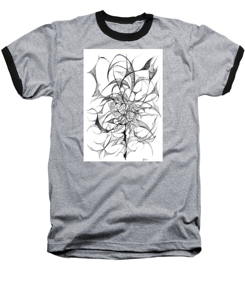 Centred Baseball T-Shirt by Charles Cater