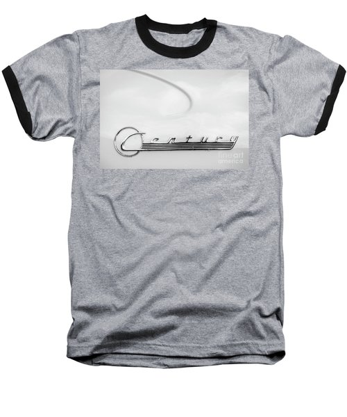 Baseball T-Shirt featuring the photograph Century Monotone by Dennis Hedberg