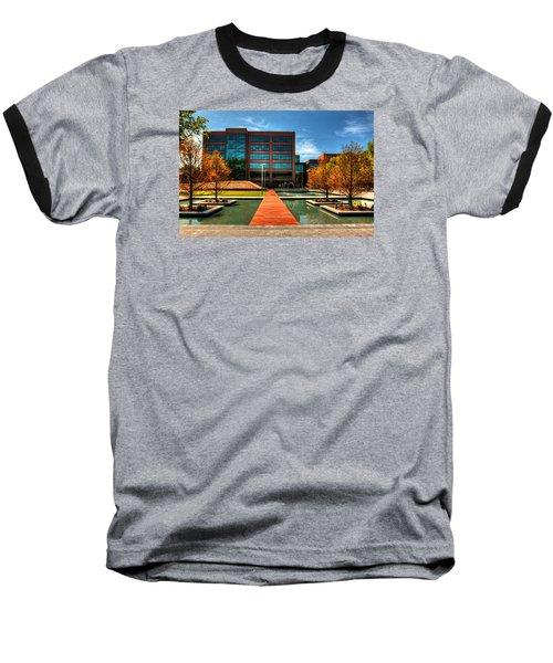 Centurylink Corporate Headquarters Baseball T-Shirt by Ester  Rogers