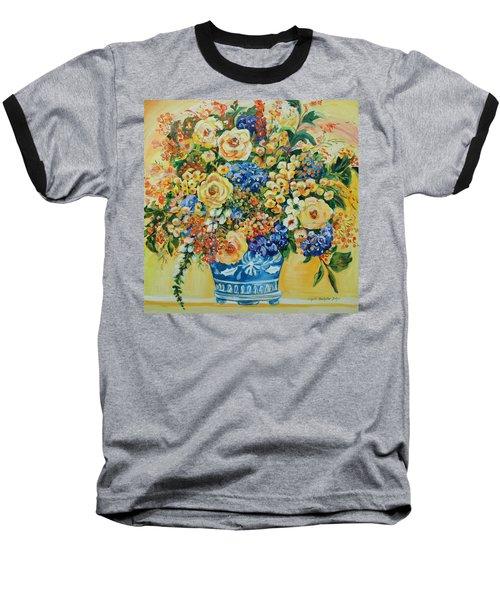 Ceramic Blue Baseball T-Shirt