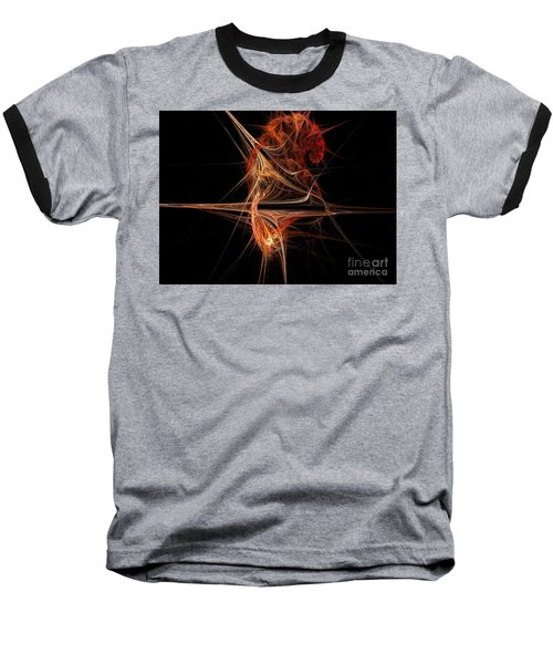 Cerebral Hemisphere Baseball T-Shirt