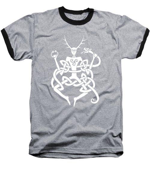 Cernunnos Bw Baseball T-Shirt