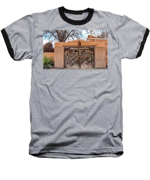 Cerrillos Gate Baseball T-Shirt by Robert FERD Frank