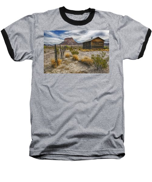 Cerro Castellan - Big Bend - Color Baseball T-Shirt by Kathy Adams Clark