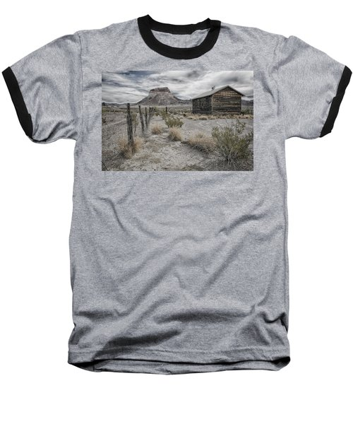 Cerro Castellan - Big Bend  Baseball T-Shirt by Kathy Adams Clark