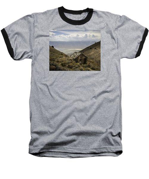 Cerro Gordo Cabin Baseball T-Shirt