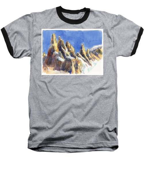 Cerro Torre, Patagonia Baseball T-Shirt