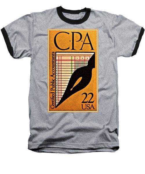 Certified Public Accounting Issue Baseball T-Shirt