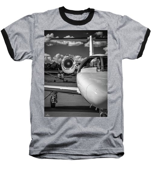 Cessna Citation Baseball T-Shirt