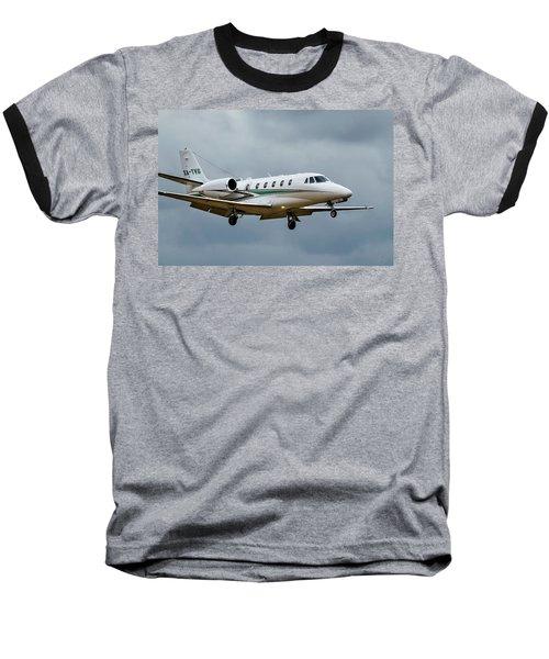 Cessna Citation X Landing Baseball T-Shirt
