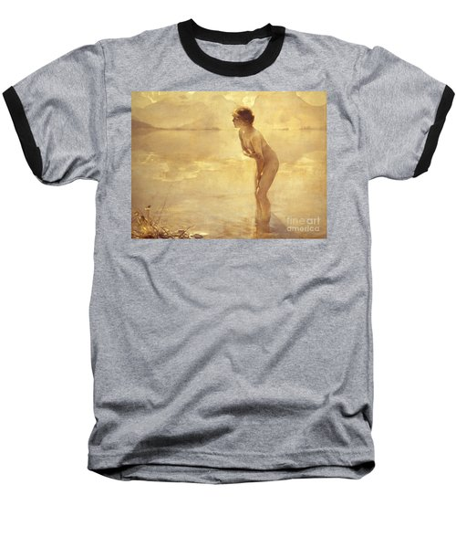 Chabas: September Morn Baseball T-Shirt by Granger