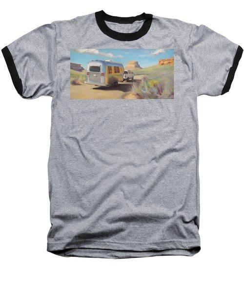 Chaco Canyon Glamping Baseball T-Shirt