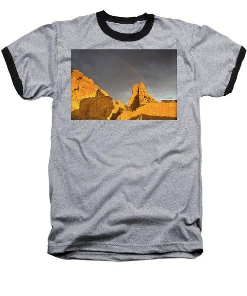 Chaco Canyon Rainbow Baseball T-Shirt