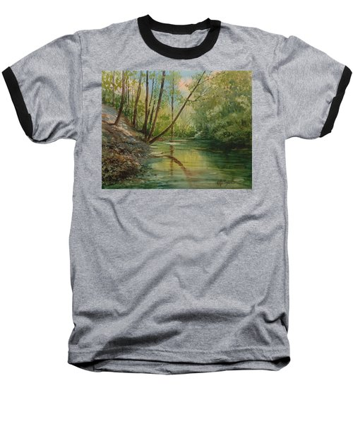 Chagrin River In Spring Baseball T-Shirt
