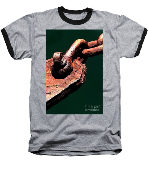 Baseball T-Shirt featuring the photograph Chain Age II by Stephen Mitchell