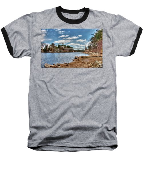 Chain Bridge On The Merrimack Baseball T-Shirt