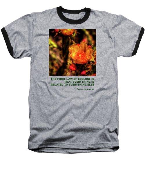 Chain Clolla Flower Baseball T-Shirt