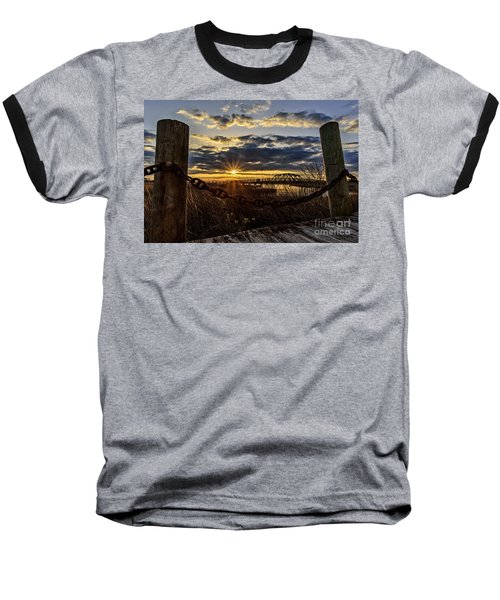 Chained View Baseball T-Shirt