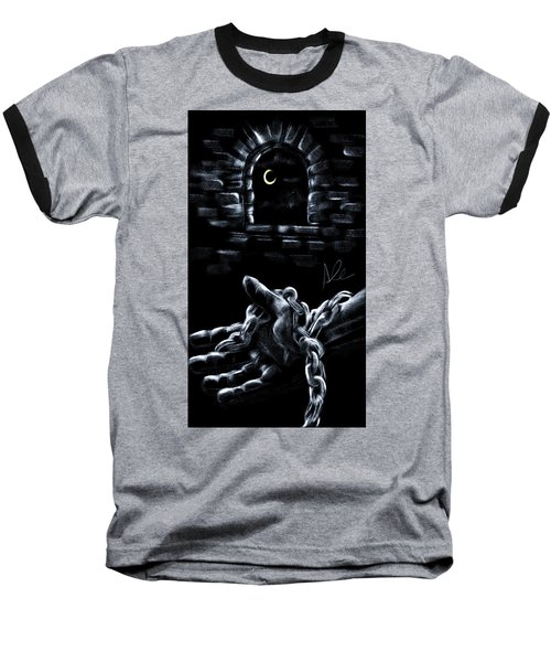 Chains Baseball T-Shirt by Alessandro Della Pietra
