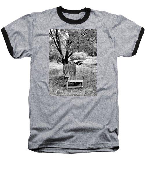 Chair Baseball T-Shirt by John Krakora