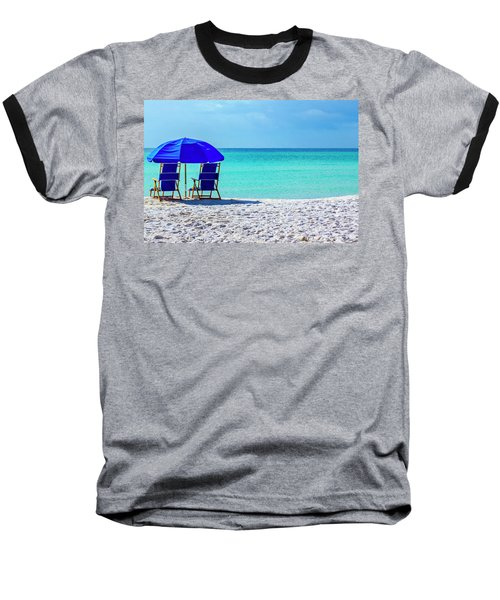 Beach Chair Pair Baseball T-Shirt