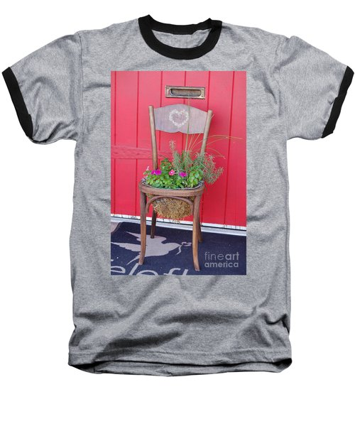 Chair Planter Baseball T-Shirt