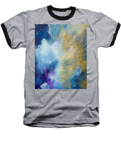Baseball T-Shirt featuring the painting Chakra by Dina Dargo