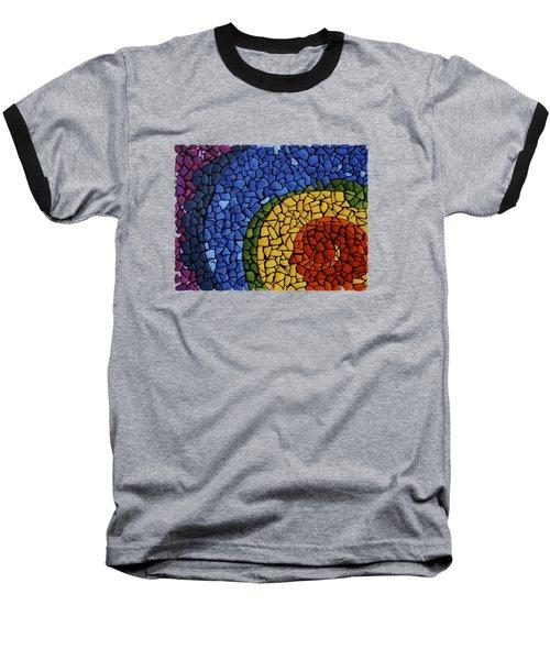 Chakra Swirl Baseball T-Shirt