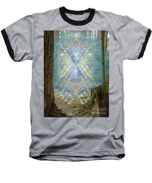 Chalice-tree Spirt In The Forest V2 Baseball T-Shirt by Christopher Pringer