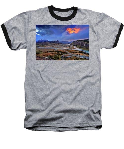 Chalten-03 Baseball T-Shirt by Bernardo Galmarini