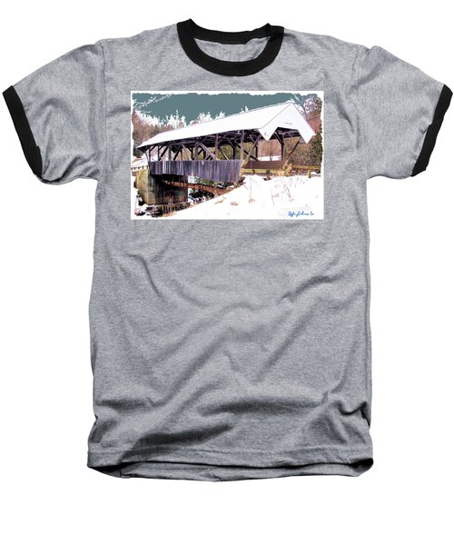Chamberlain Bridge Baseball T-Shirt by John Selmer Sr