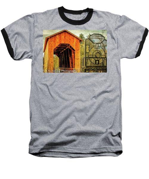 Chambers Railroad Bridge Baseball T-Shirt
