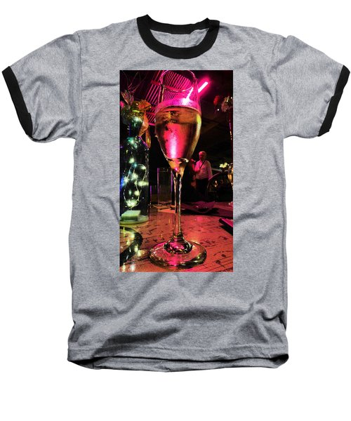 Baseball T-Shirt featuring the photograph Champagne And Jazz by Lori Seaman