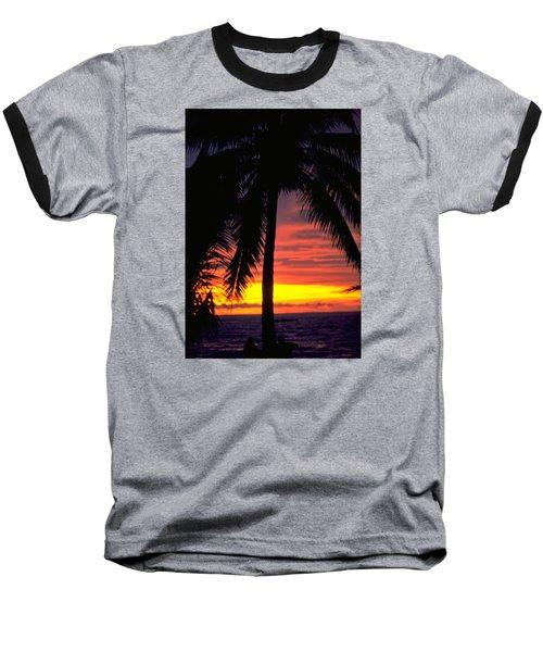 Champagne Sunset Baseball T-Shirt