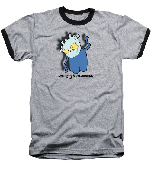 Chane Baseball T-Shirt by Uncle J's Monsters