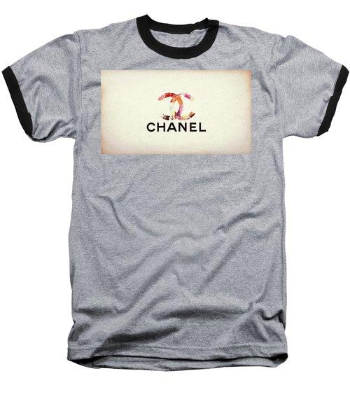 Chanel Floral Texture  Baseball T-Shirt