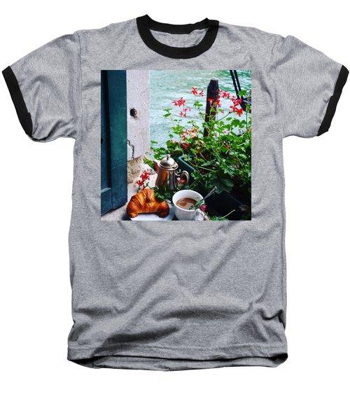 Chanel View Breakfast In Venezia Baseball T-Shirt