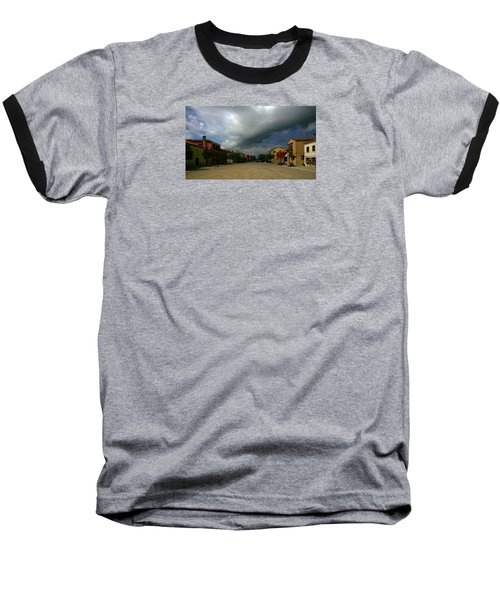 Baseball T-Shirt featuring the photograph Change In The Weather by Anne Kotan
