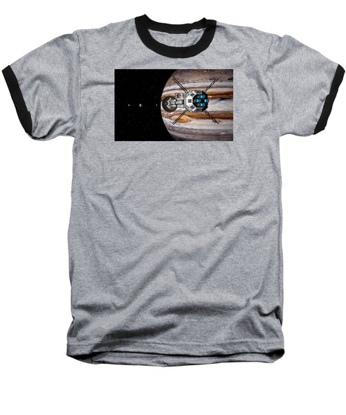 Baseball T-Shirt featuring the digital art Changing Course by David Robinson